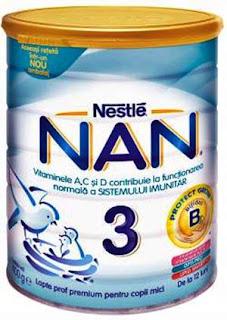 Pareri Lapte Praf NAN 3  Nestle cu Bifidus
