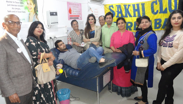 Blood Donation Camp for Thalassemia Children by Sakhi Club