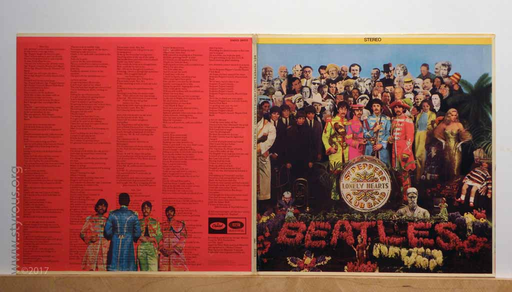 The Styrous Viewfinder 20000 Vinyl Lps 91 Sgt Peppers Lonely