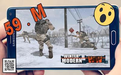 حمل الان اللعبة الحربيه world war winter modern بمساحة 59 ميجا فقط اوف لاين