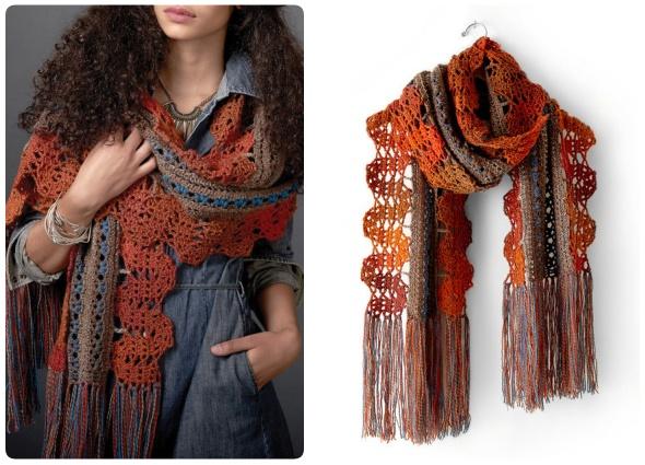 chal crochet, patrones para crochet, tejido mujer