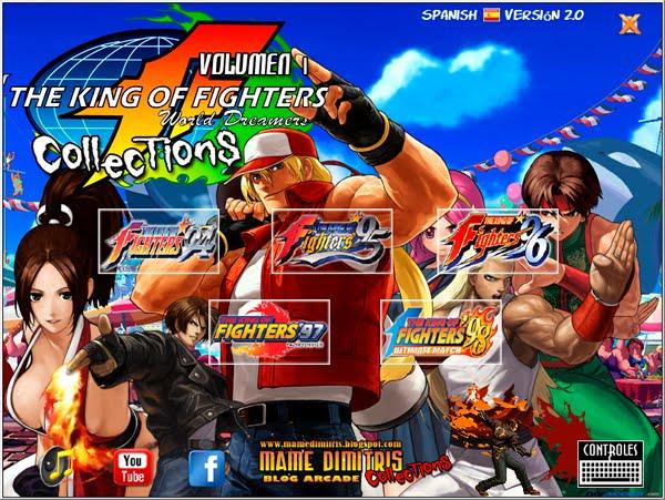 تحميل لعبة The King of Fighters Collection لأجهزة psp ومحاكي ppsspp