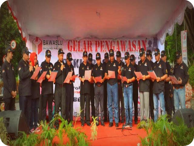Bawaslu Gelar Pengawasan dan Deklarasi Tolak Politik Uang dan Politisasi SARA pada Pilkada 2018