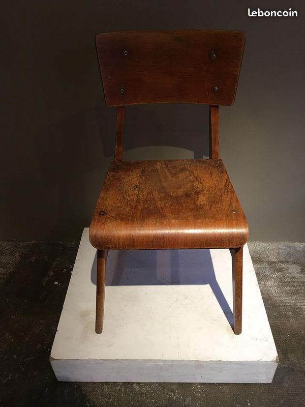 bon coin jean prouve chaise en bois