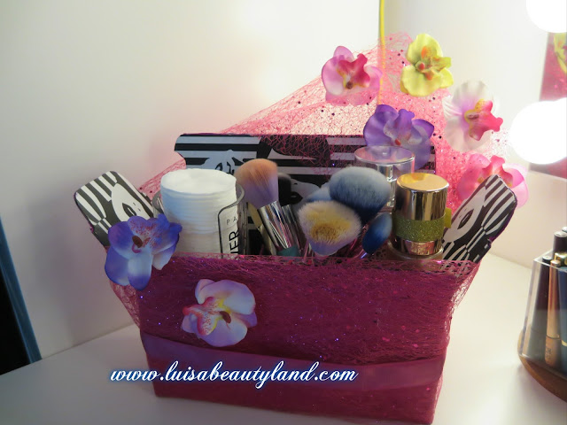 make up organizer DIY