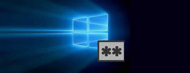 Mudar a senha do Windows 10