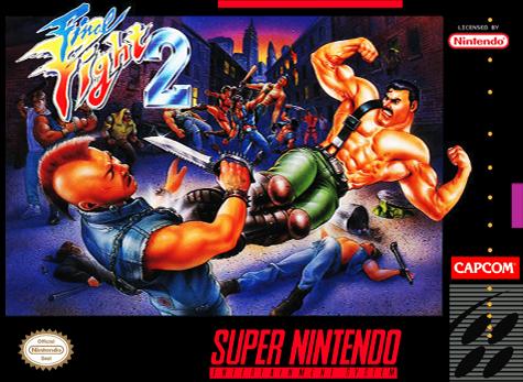 [Análise Retro Game] - Final Fight 2 e 3 - Super Nintendo Final-fight-2-usa