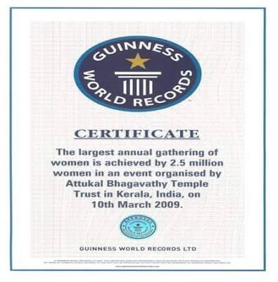 Attukal-pongala-Guinness-world-Record
