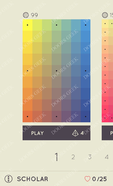 I Love Hue Scholar Level 1 Solution, Cheats, Walkthrough