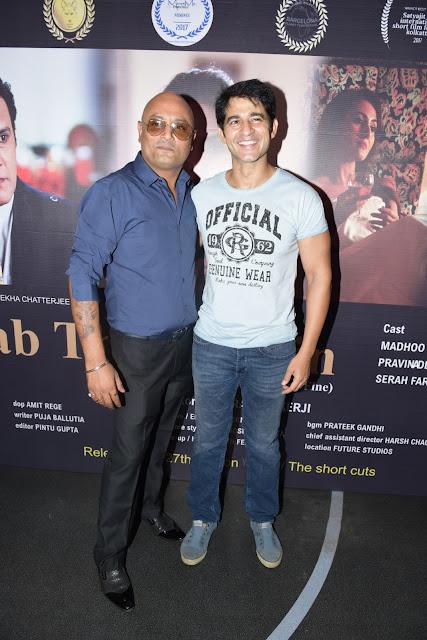 5. Raja Ram Mukerji with Hiten Tejwani