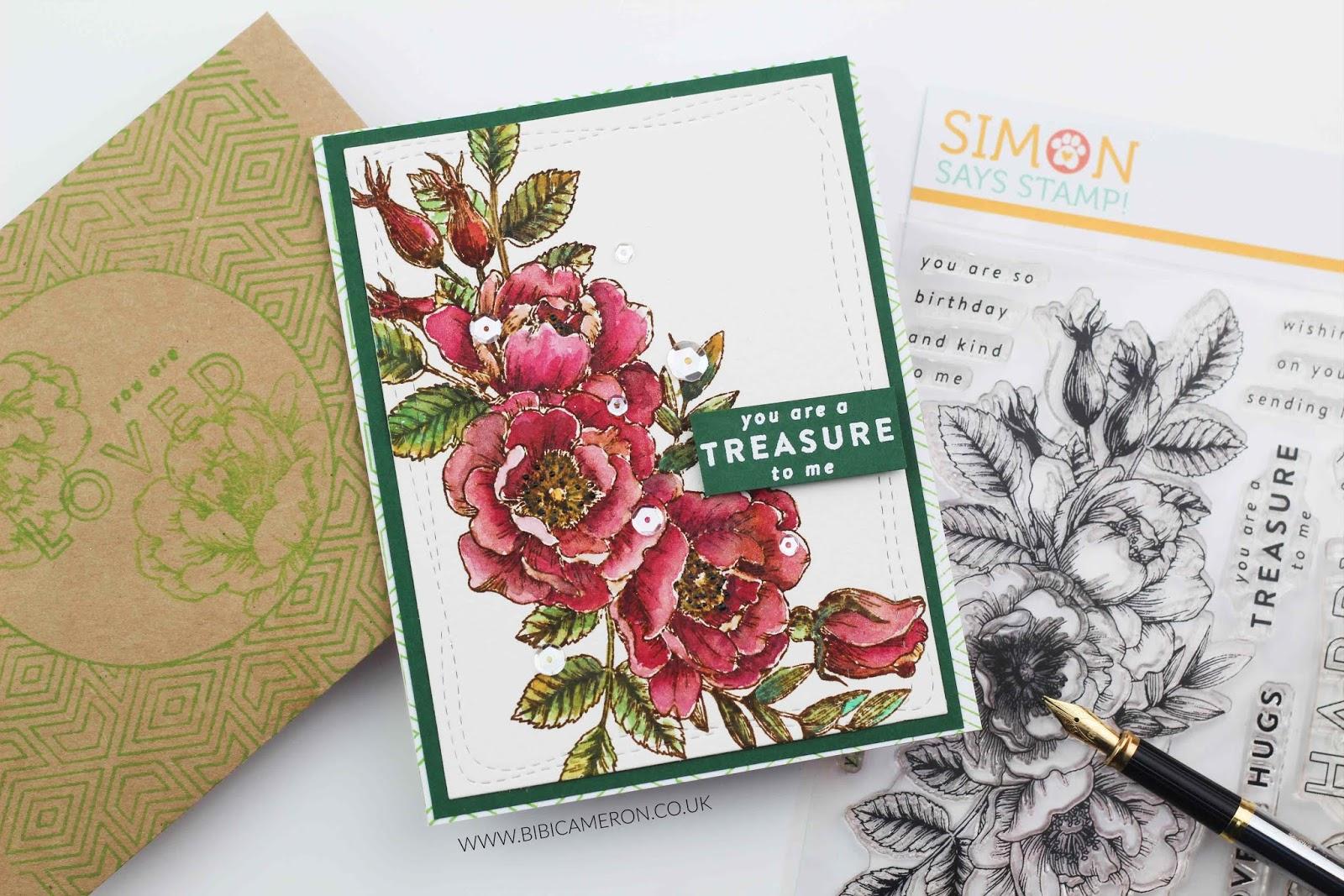 Beautiful flowers by simon says stamp bibi cameron hello there izmirmasajfo