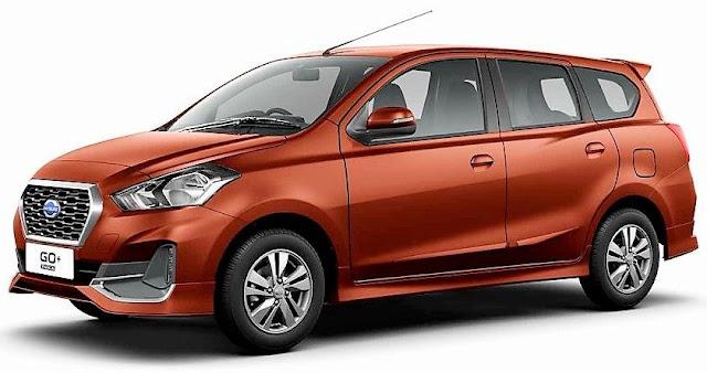 New 2018 Datsun GO Plus Facelift Left view