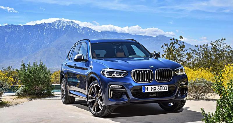 Price of BMW X3 2018