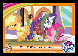 My Little Pony P.P.O.P. Pony Point of View Series 5 Trading Card