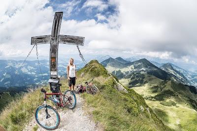 Mountainbiketour aufs Brechhorn