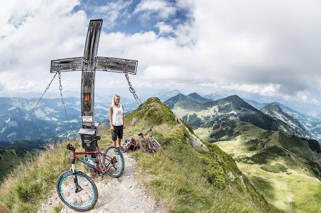 Mountainbiketour aufs Brechhorn MTB