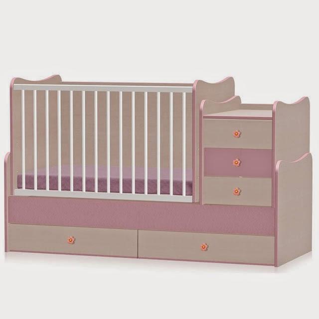 Babykamer Bateau Wit.Transformeerbare Babykamers 4 En 5 In 1 Met Schommel Systeem