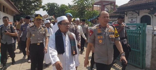 Dihadapan Ulama, Kapolda Banten Bersumpah : Wallahi (Demi Allah) yang Dibakar di Gatut Bandera HTI