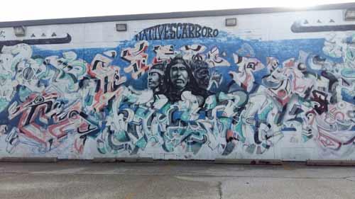 Native Scarboro Mural