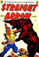 Straight Arrow v1 #3 - Frank Frazetta golden age western cover art