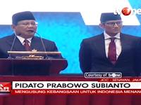 Suara Riuh Terdengar di Pidato Kebangsaan Prabowo Subianto