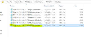 Formal.Assessment (Initial).WinSAT - Check WEI Win8.1