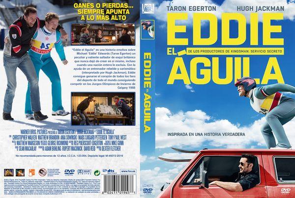 Eddie El Águila – Castellano, Inglés – DVD9