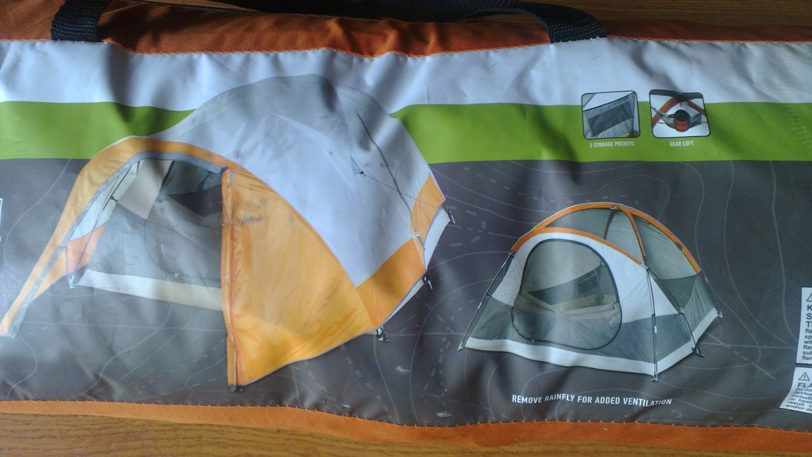 Manly Notes Into The Mild Review Alpine Design Horizon 3 Tent Part 1