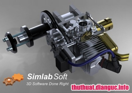 Download SimLab Composer 9.0.10 Full Cr@ck – Phần mềm render 3D
