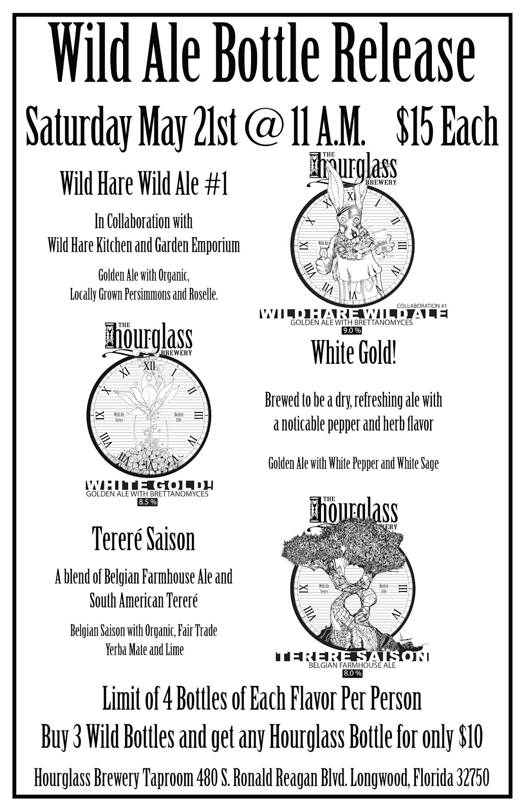 Beer Apostle: Hourglass Brewing Wild Ale Bottle Release