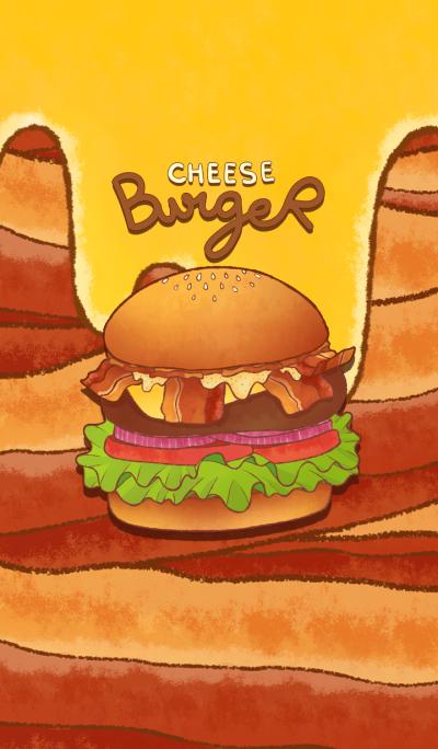 Cheese Burger EXTRA Bacon