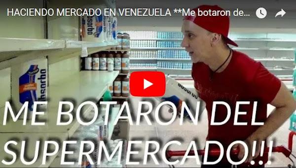 Haciendo compras en la Central Madeirense en enero del 2018