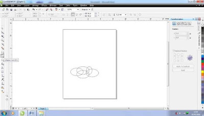 Membuat Abstrack Cloud Dengan Corel Draw