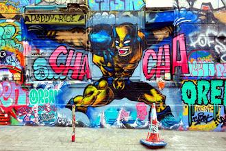 Sunday Street Art : Paddy - rue Dénoyez - Paris 20
