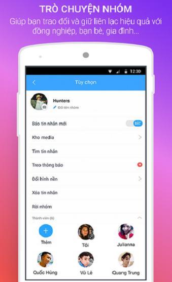 Tải Zalo cho điện thoại Android miễn phí 3
