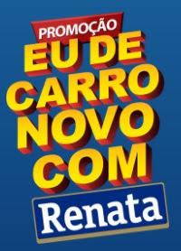 Cadastrar Promoção Produtos Renata e Savegnago Carro Zero