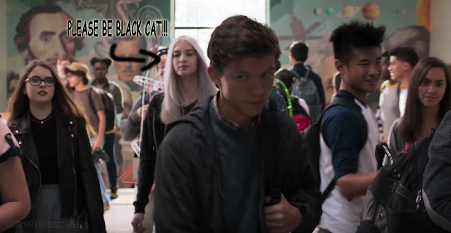 Marvel Studios Spider-Man Homecoming Trailer Stills the Black Cat