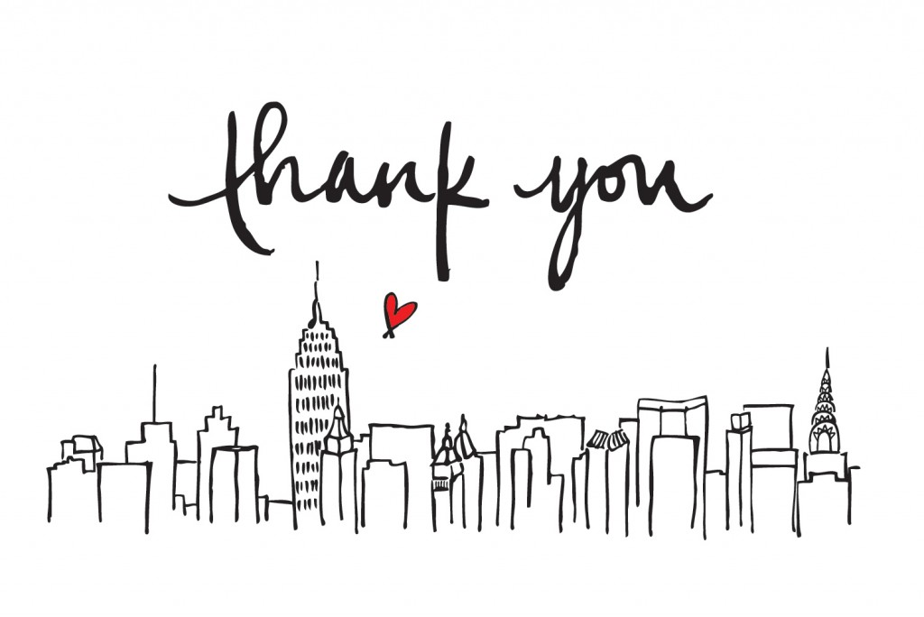 NEW YORK CITY (NYC) SPREE Shopaholic: THANK YOU for 1 5 0