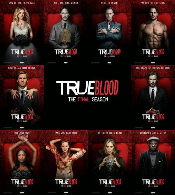 Posters de la temporada final de True Blood