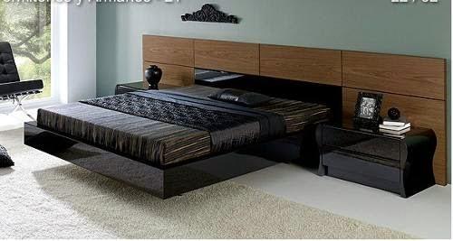 Decora hogar 14 camas matrimoniales modernas v deo tutorial for Cama matrimonial moderna grande