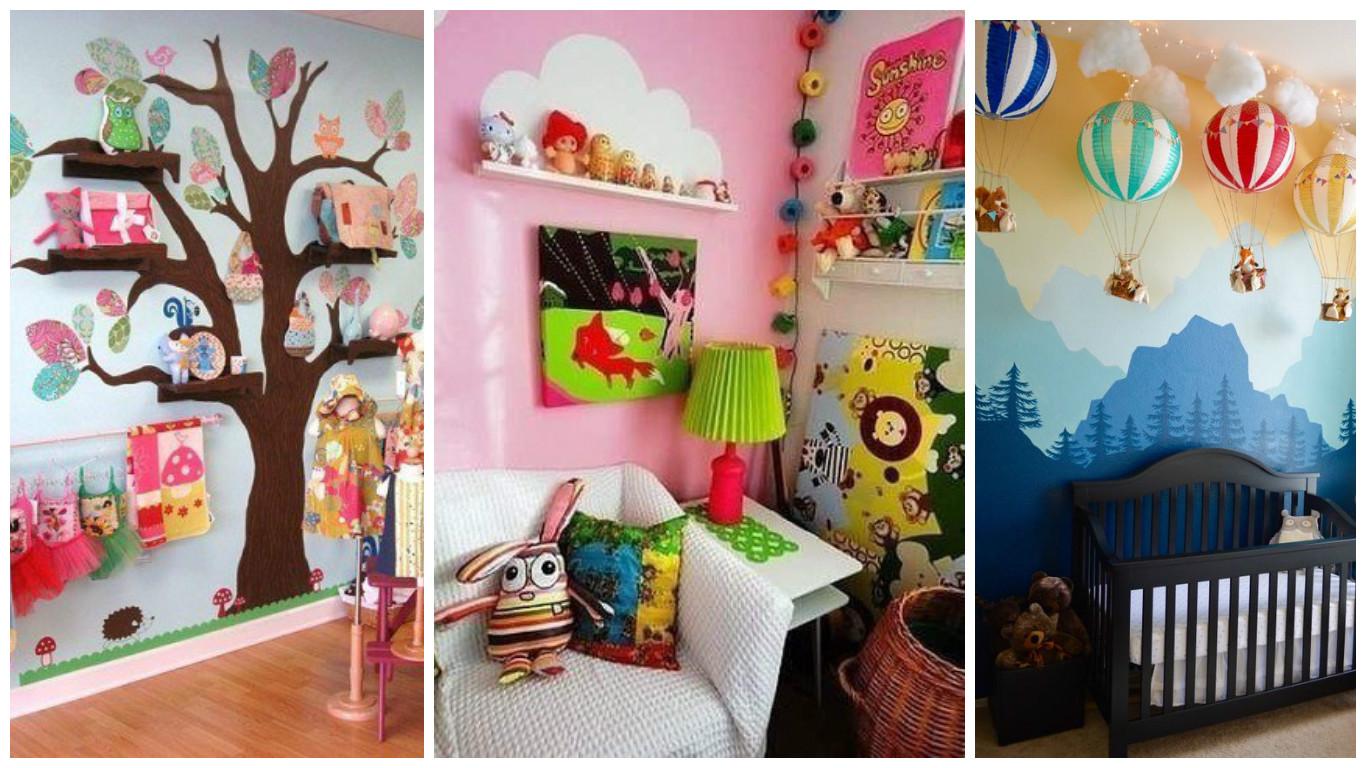 9 ideas f ciles para decorar habitaciones infantiles - Accesorios para decorar ...