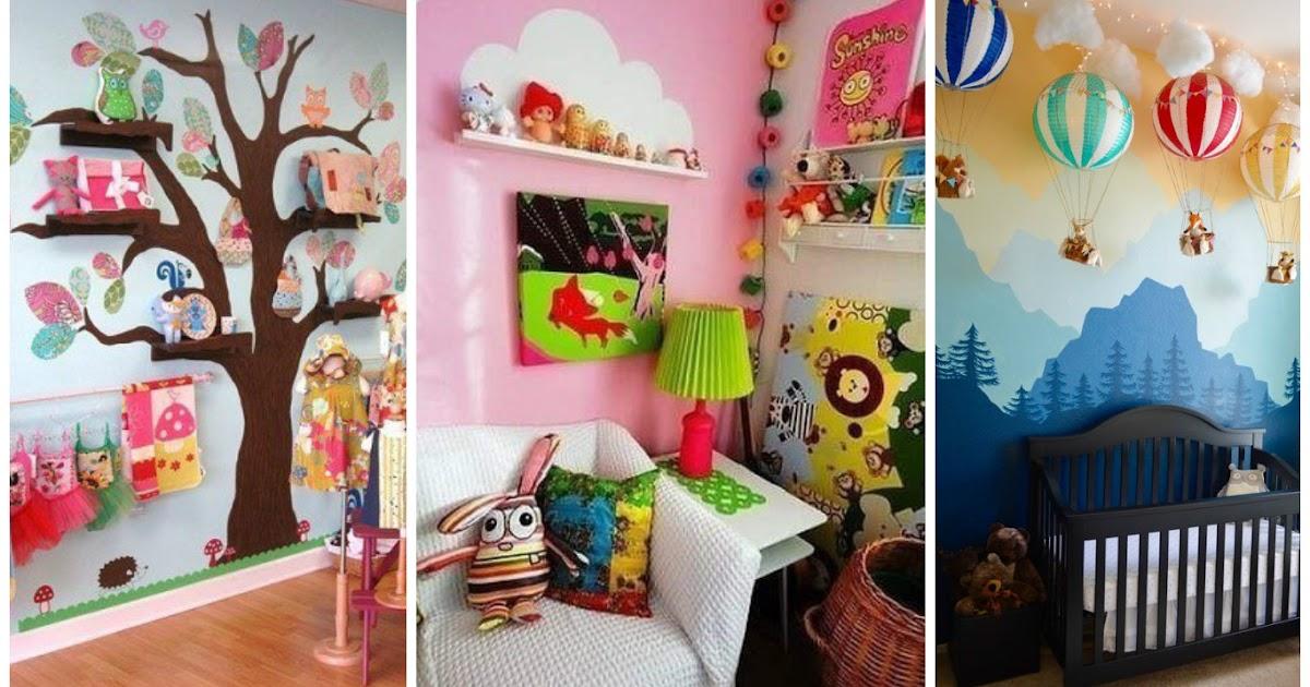 9 ideas f ciles para decorar habitaciones infantiles - Decorar habitaciones infantiles ...
