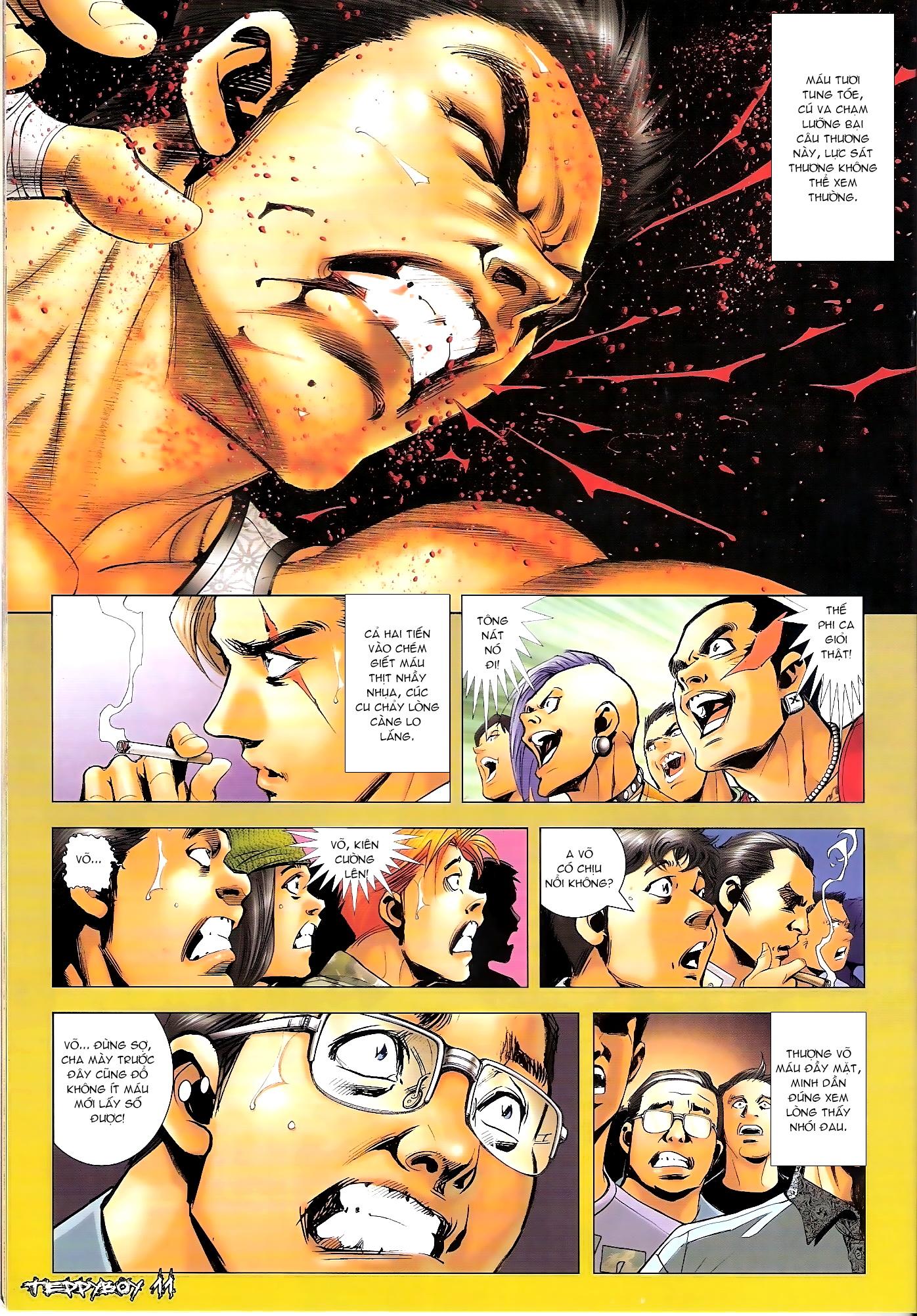 Người Trong Giang Hồ - Chapter 1307: Vinh Nhục Nhất Chiến 2 - Pic 10