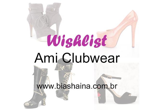 Wishlist Amiclubwear: Sapatos