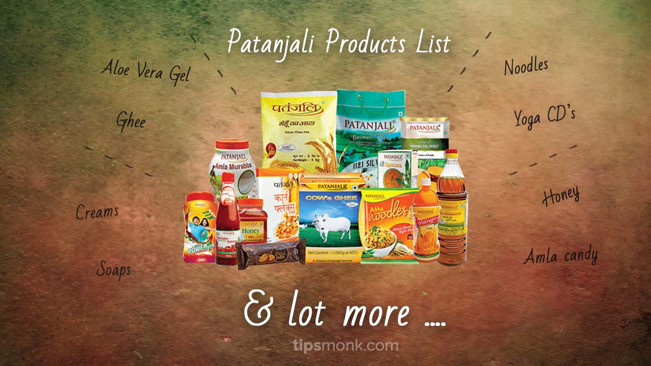 Baba Ramdev Patanjali products list details with price 2017 - Tipsmonk