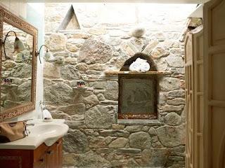 Baño en piedras