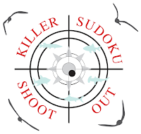 Logic Masters India Sudoku Test named Killer Shootout on 25 - 28 August, 2012