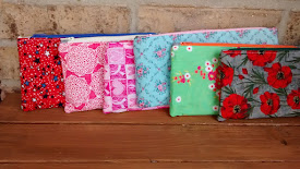 Zipper pouches