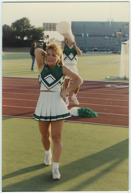North Texas Cheerleader 1990's