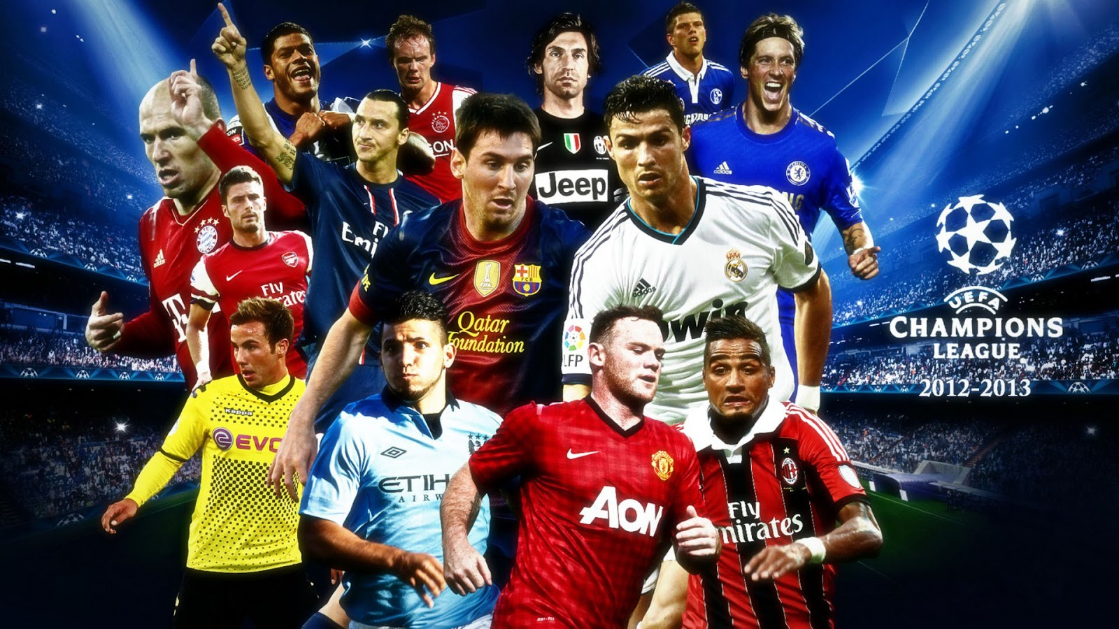 Footballers ~ HD Wallpapers